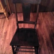 Information on a Murphy Rocking Chair - armless rocking chair
