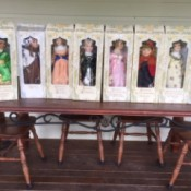 Value of Fairytale Collection Porcelain Dolls - dolls in boxes