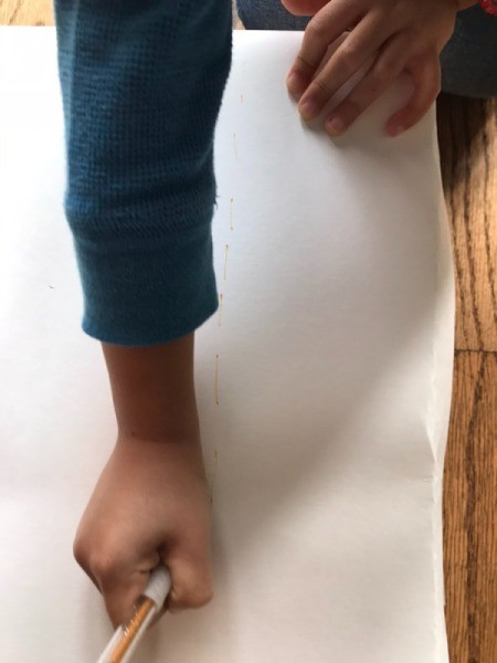 Toy Helicopter/Airplane Landing Pad - using a pen to create the landing pad