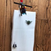 Toy Helicopter/Airplane Landing Pad  - helicopter on top of the water bottle landing pad