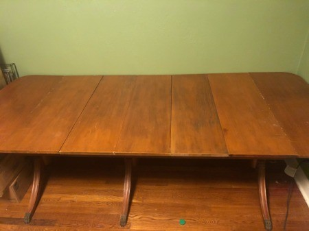 Value of a Unidentified Drop Leaf Table