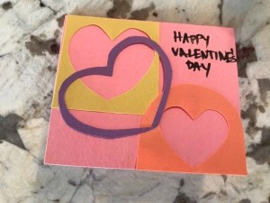 Cutout Heart Valentines - add greeting