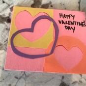 Cutout Heart Valentines - add greeting