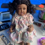 Identifying a Porcelain Doll - African American doll