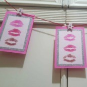 Kissmark Decorative Banner - banner hanging on wall