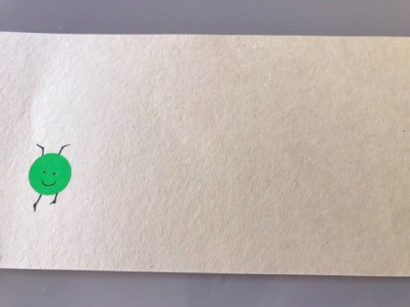 Heart Shaped Caterpillar Name Puzzle - attach the dot or paper circle and draw the face