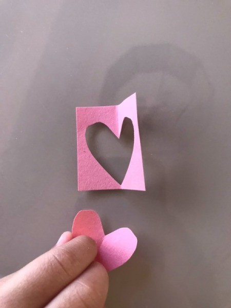 Heart Shaped Caterpillar Name Puzzle - cut out enough paper hearts for the letters