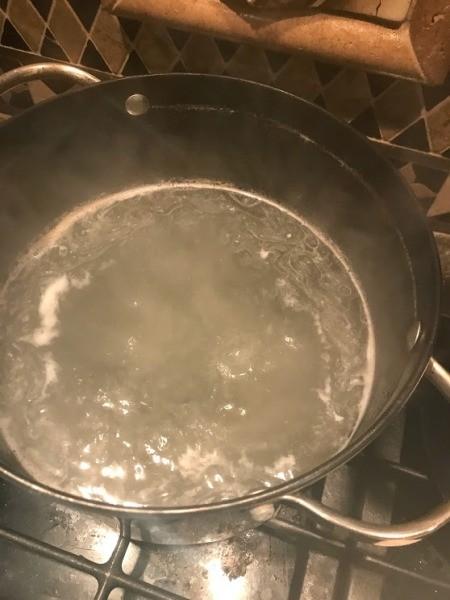 boiling broth