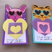 """""""Eyes On You"""" Valentines - finished cards"""
