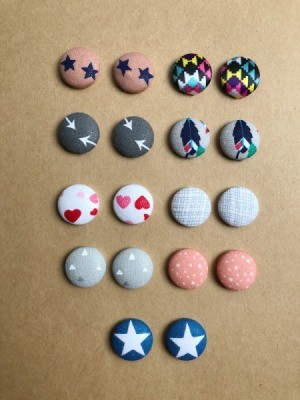 Name Ideas for a Fabric Buton Earring Business - fabric button earrings