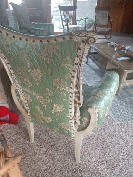 Identifying an Antique Upholstered Chair