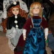 Value of Porcelain Dolls - unidentified porcelain dolls perhaps from Ireland