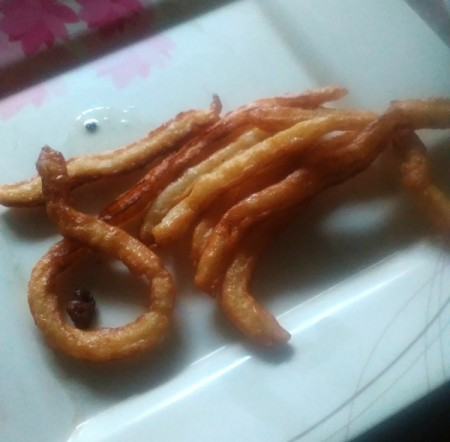 cooked Churros
