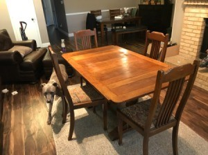 Identifying an Antique Table - table and 4 chairs