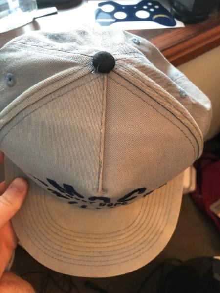 Restoring a Sun Damaged Hat -faded hat