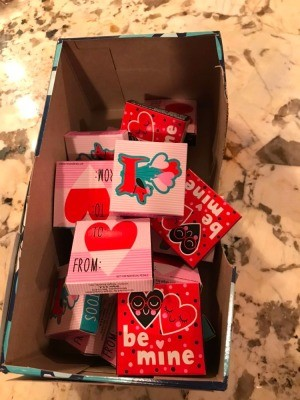 A gift box for Valentine's treats.