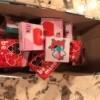 Valentine's Day Patchwork Treat Box