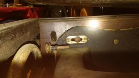 Age of a Domestic Treadle Sewing Machine