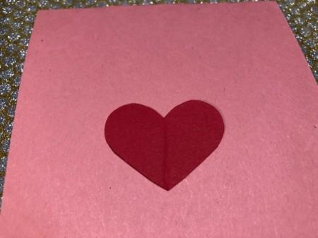 Guitar Heartstrings Card - unfold the heart