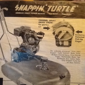 Value of Snappin Turtle Mower Model 6st27