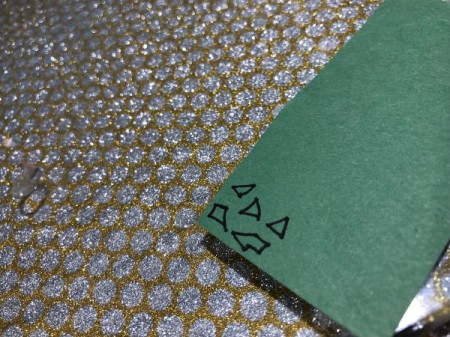 """""""I Like You Elote"""" Multi-occasion Greeting Card - draw small shapes on the green paper for the chopped cilantro"""