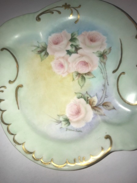Value of a Vintage Hand Painted Plate