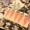 Carrot Counting Activity for Toddlers - all done