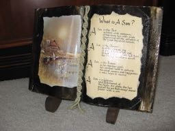 Value of a 'The Book of Knowledge' Decorative Display