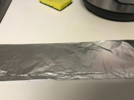 making sling with foil