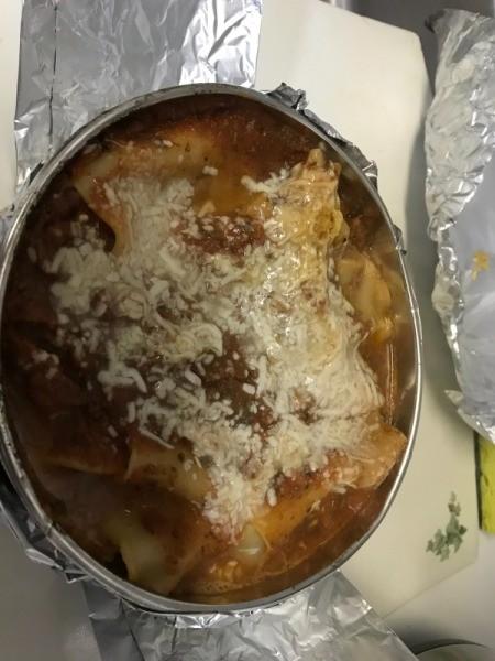 cooked Instant Pot Lasagne