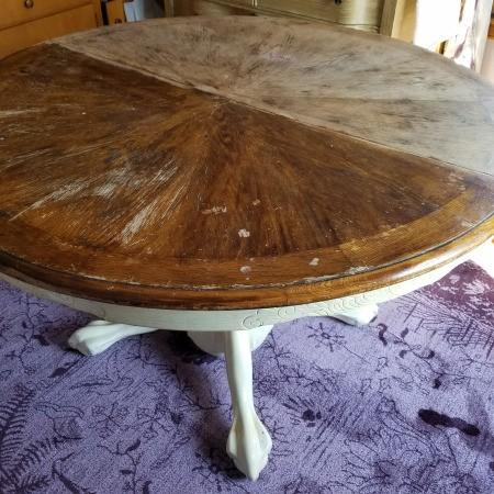 Identifying an Old Oak Table