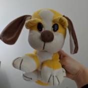 Identifying a Vintage Plush Yellow Dog
