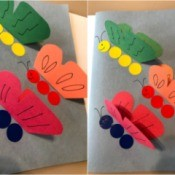 Fluttering Butterflies Greeting Card - decorate the wings
