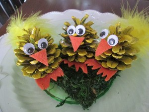 Pinecone Chicks