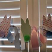 Spring Bunny Banner