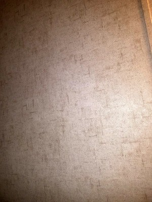 Identifying Wallpaper - neutral paper with a brown random pattern