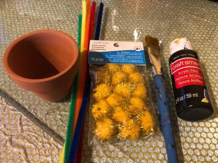 Pot O' Gold Planter - supplies