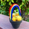 Pot O' Gold Planter - pot on deck rail