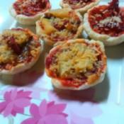 baked Sardine Pizza Cups