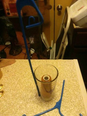 Homemade Thread Cone Holder