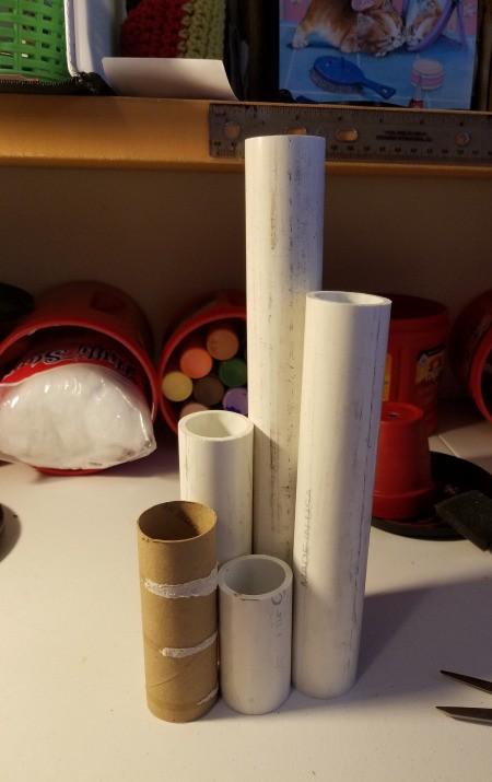 Four Tier Votive Candle Holder - supplies