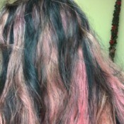 Getting Hair Back to Natural Color After Dyeing - pink hair