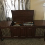 Value of Zenith Record Player and Radio Console - vintage stereo console