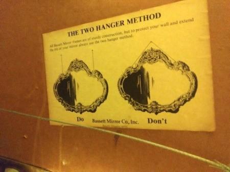 Value of a Vintage Bassett Mirror