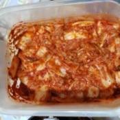 Filipino Style Mak Kimchi in container