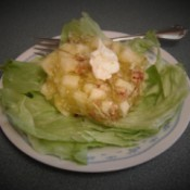 Congealed Cabbage & Apple Salad