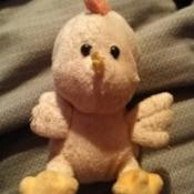 Identifying a Stuffed Chicken Toy