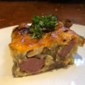 piece of Breakfast Casserole