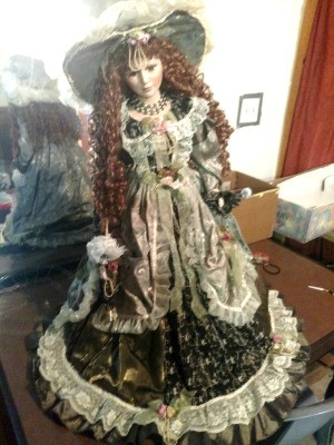 Value of a Cathy Collection Porcelain Doll