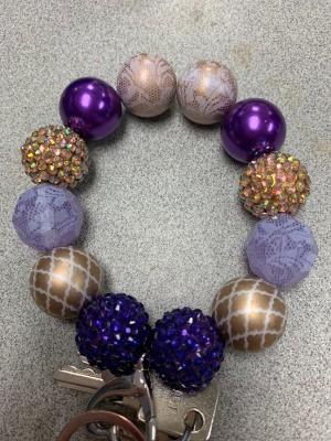 Bubblegum Bead Keychain Business Name Ideas